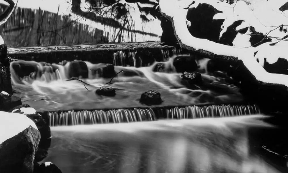 Paper negatives - Dreamy Creek