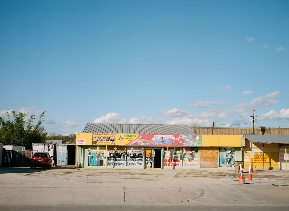 East side of Austin, Texas. Fuji GA645, Kodak Portra 400.