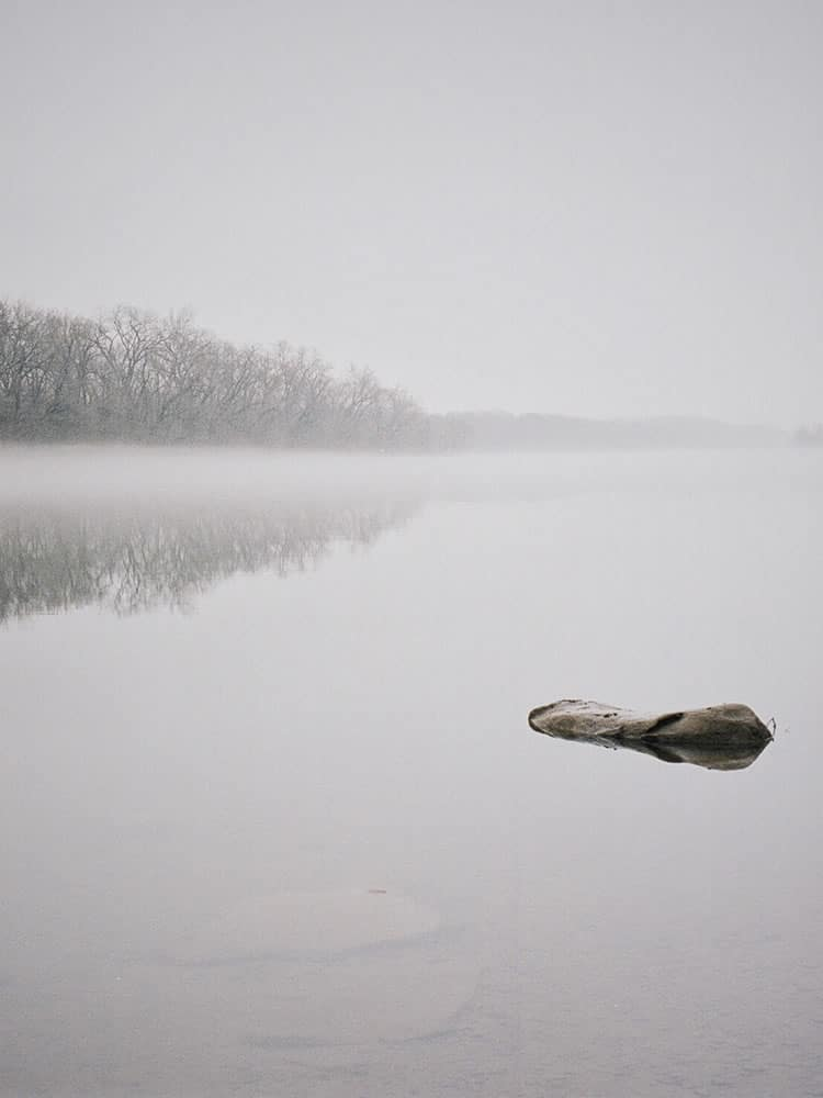 River Mist, Minolta x700, Kodak Portra 160