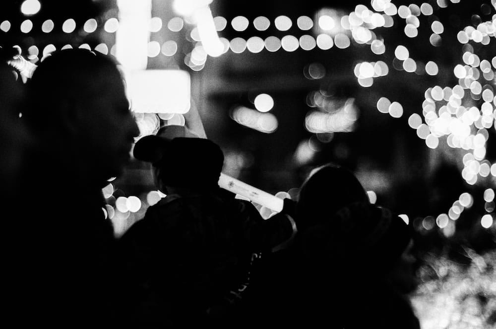 Night Lights - Ilford FP4 Plus Pushed 3 Stops