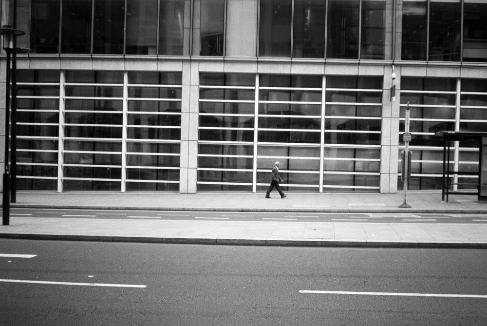 Yashica Minister D -Ilford Pan F+
