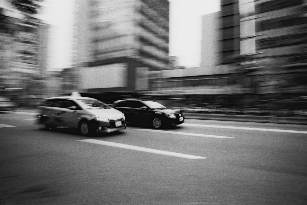 Street racers - Ilford FP4+ (35mm)