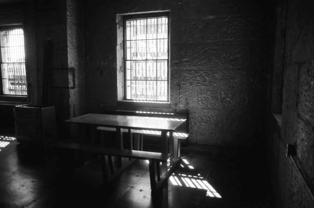 Denise - @mybluephase<br> The jail in the historic Chase co courthouse in cottonwood falls.