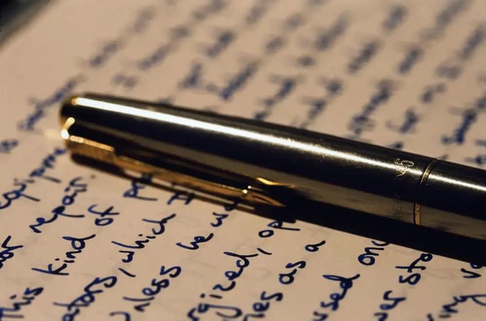 Pen and Paper, Canon Elan 7, 100mm 2.8 Macro, Fuji Velvia 50
