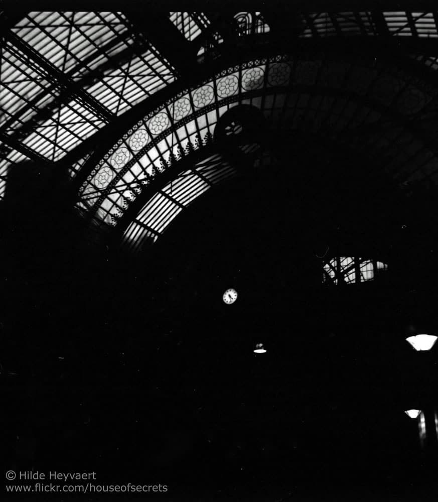 Antwerp Central station, Belgium - Agfa Isola 1, Kodak T-MAX 100 film