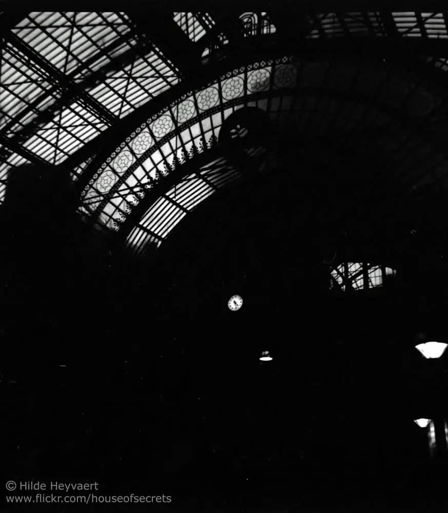 Antwerp Central station, Belgium -Agfa Isola 1, Kodak T-MAX 100 film