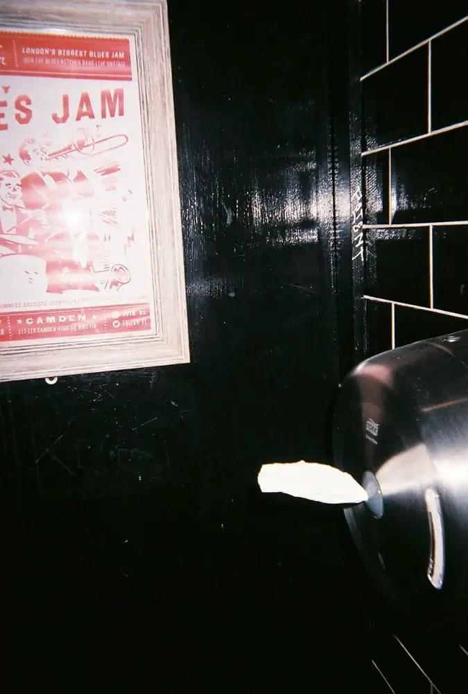 View 14, Fujifilm Superia 200 Disposable, Blues Kitchen, Camden