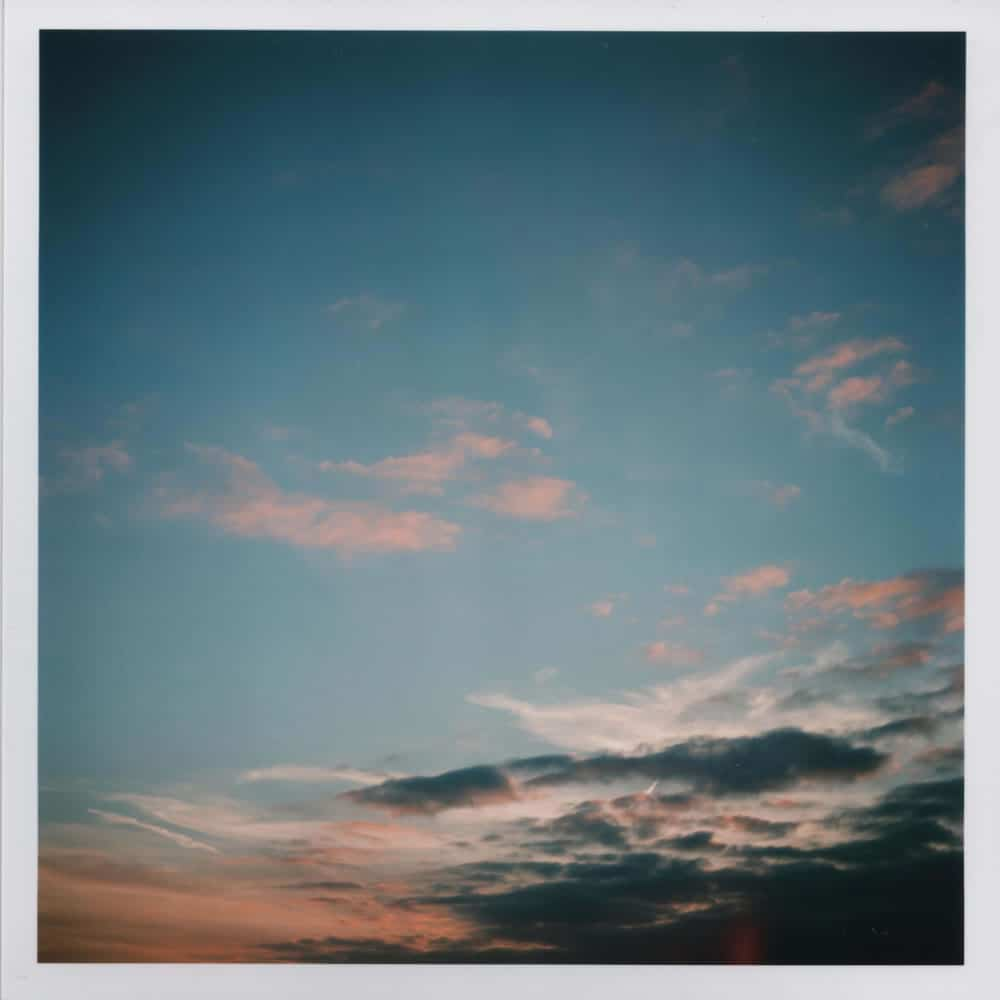 Yashica D - Clouds