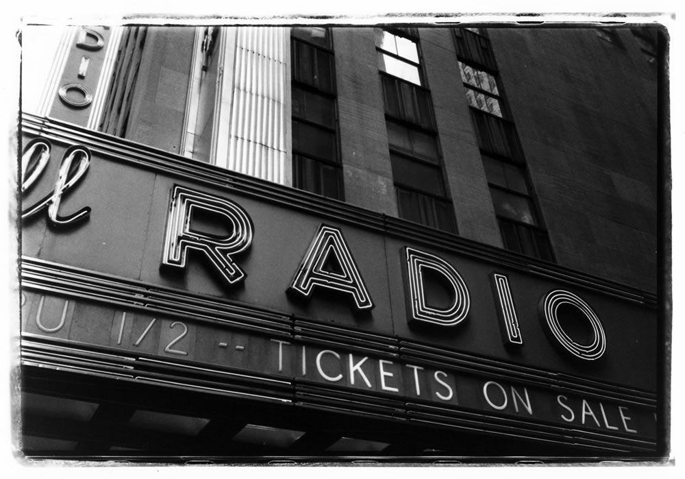 Radio City Music Hall - Pentax Spotmatic, Kodak Tri-X 400