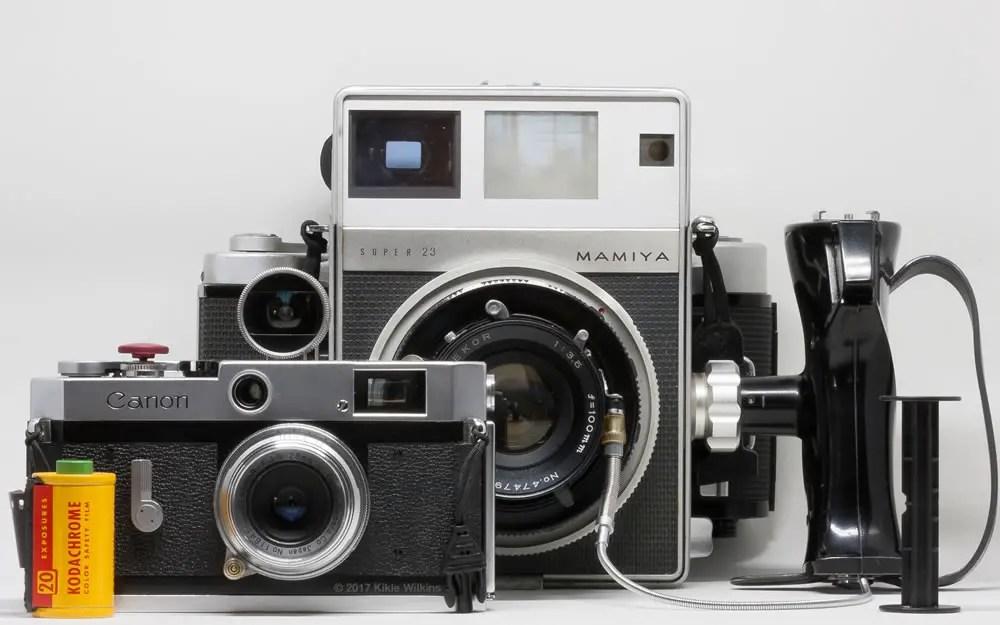 Canon P and Super 23 comparison