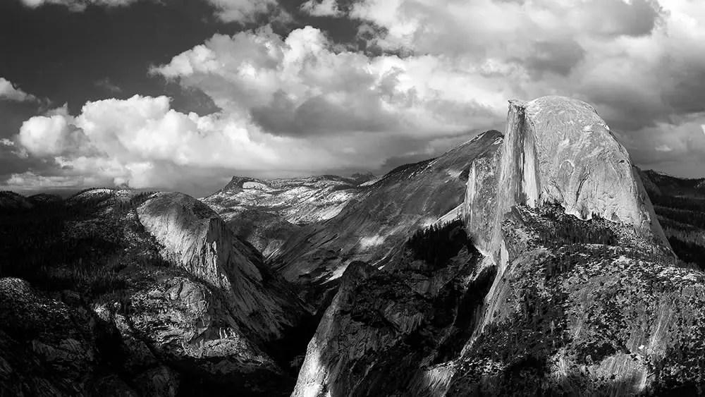 Glacier Point (3 vertical images stitched) – Yosemite, CA – Pentax-A 645 75mm – Ektar 100
