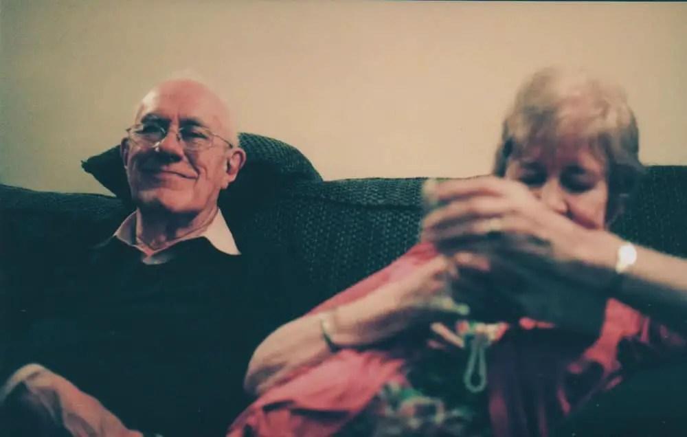 Grandparents – Canon AE1 Program - Agfa Vista Plus 200
