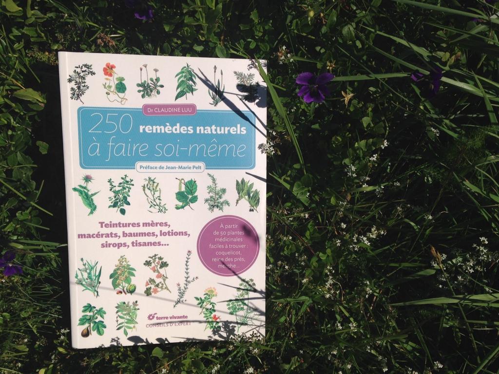250 remèdes naturels avec les éditions Terre Vivante