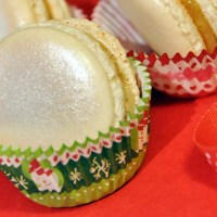 Christmas Special 2: Caramel Macarons with Apple and Cinnamon
