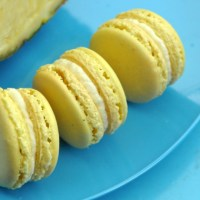 Summer part3: Pineapple Macarons