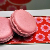 Summer part7: Litchi Macarons