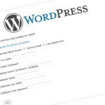 WordPress auto installer for wamp