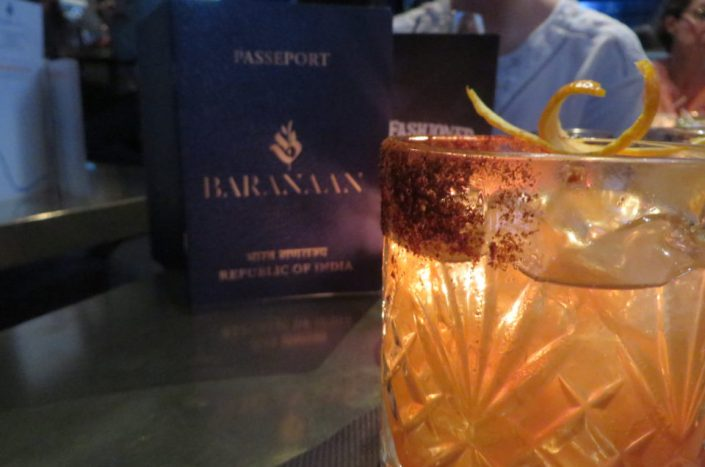 Baranaan Indian Cocktails, a secret Indian place