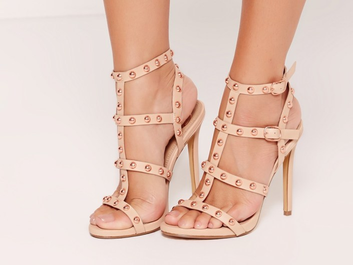 Nude high-heels MissGuided