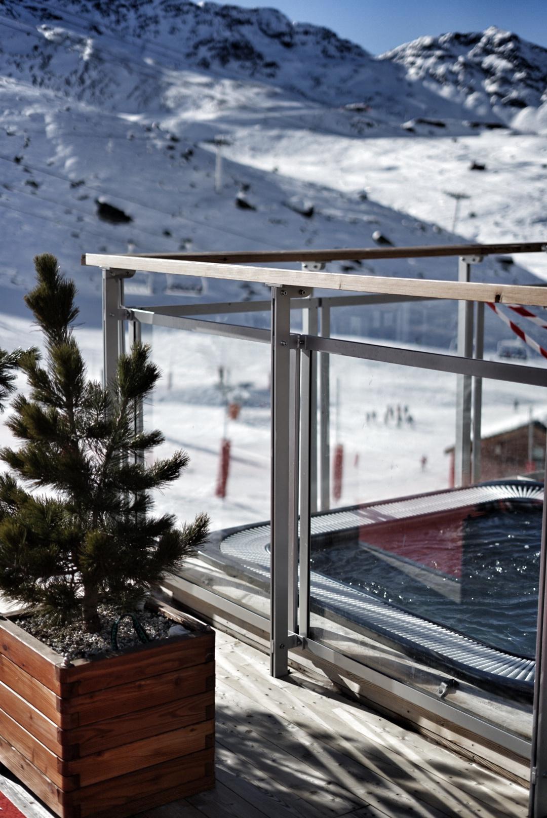relaxation, spa, area, val thorens, pashmina, hotel, pashmina hotel, refuge, terrace, mountain, trip, holidays