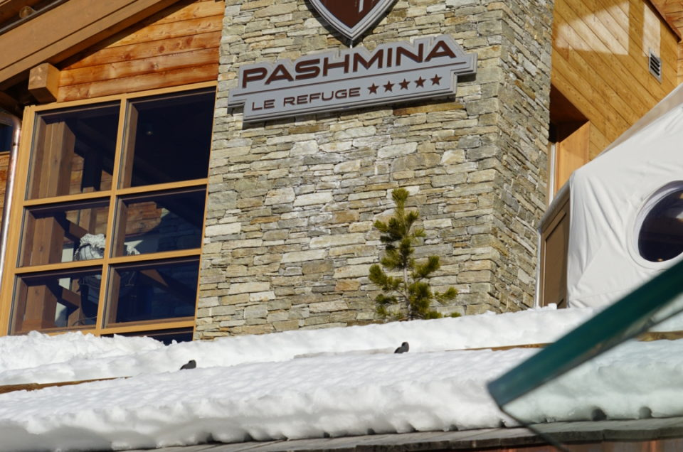 The Pashmina spa-hotel: a luxury refuge on the slopes