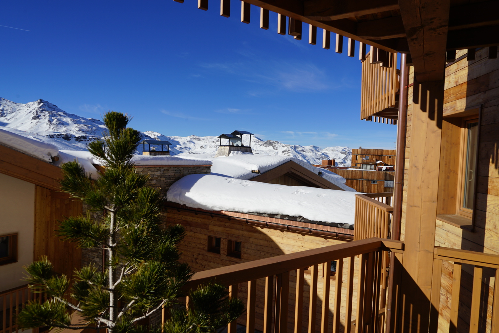 val thorens, pashmina, pashmina hotel, hotel, refuge, terrace, mountain, trip, holidays