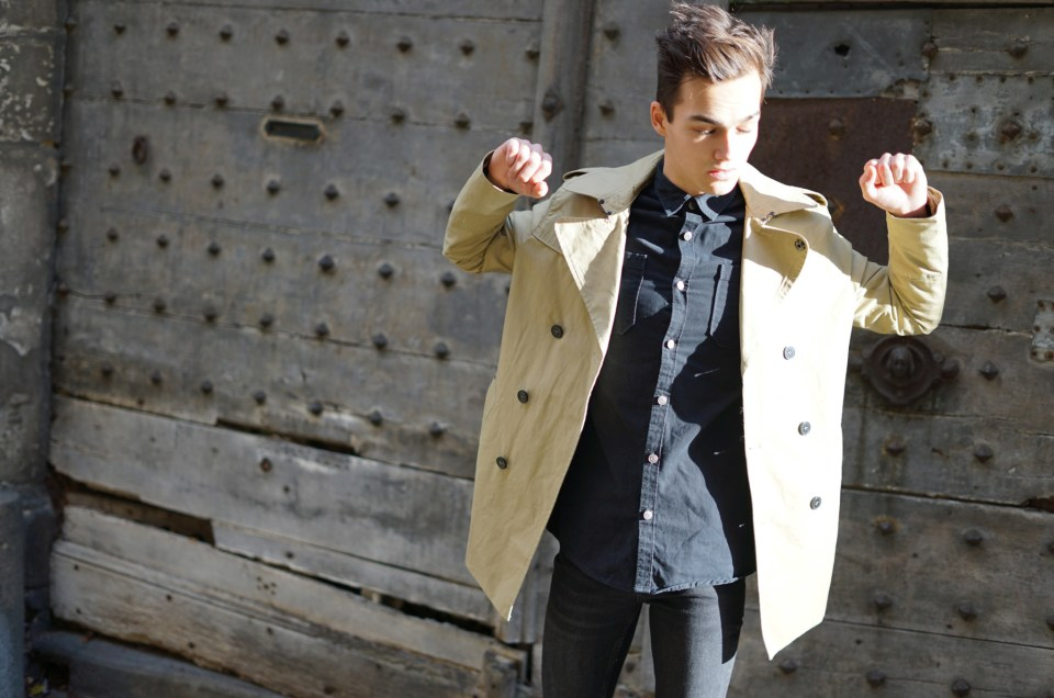 The Trench coat, a real male basic