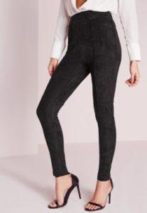 pantalon-skinny-taille-haute-en-faux-daim-noir-270x391