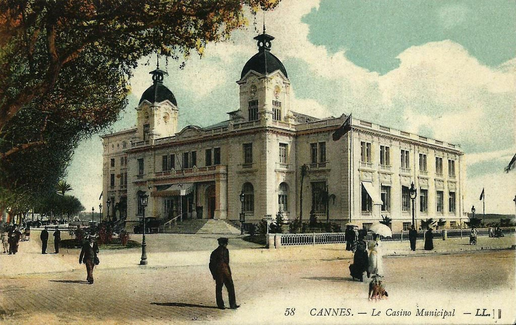 Old Casino of Cannes From cparama