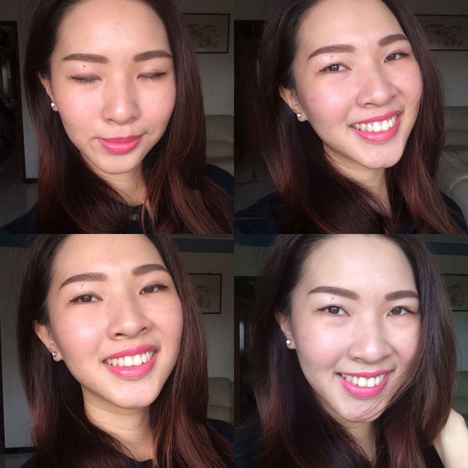 Etude House Stay Up Foundation Dear My Wish Lipstick Blogger Review 008