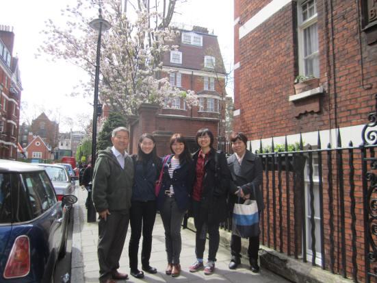Ena London Family Pic