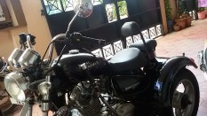 ROYAL ENFIELD BULLET THUNDERBIRD 350cc ALTERED FOR Persons with disabilities (DIFFERENTLY ABLED)