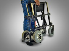 Basic Electric Wheelchair - VERVE V10 FX Portable folding electric wheelchair