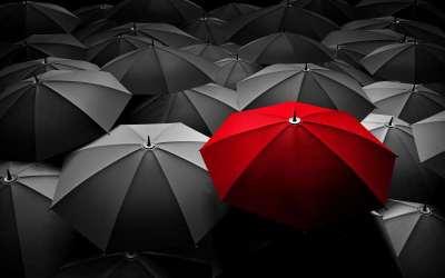 διαφορετικό ομπρέλες