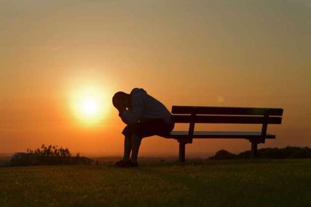 θλίψη κλάμα