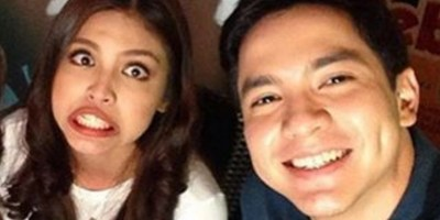 Alden and Maine in Davao