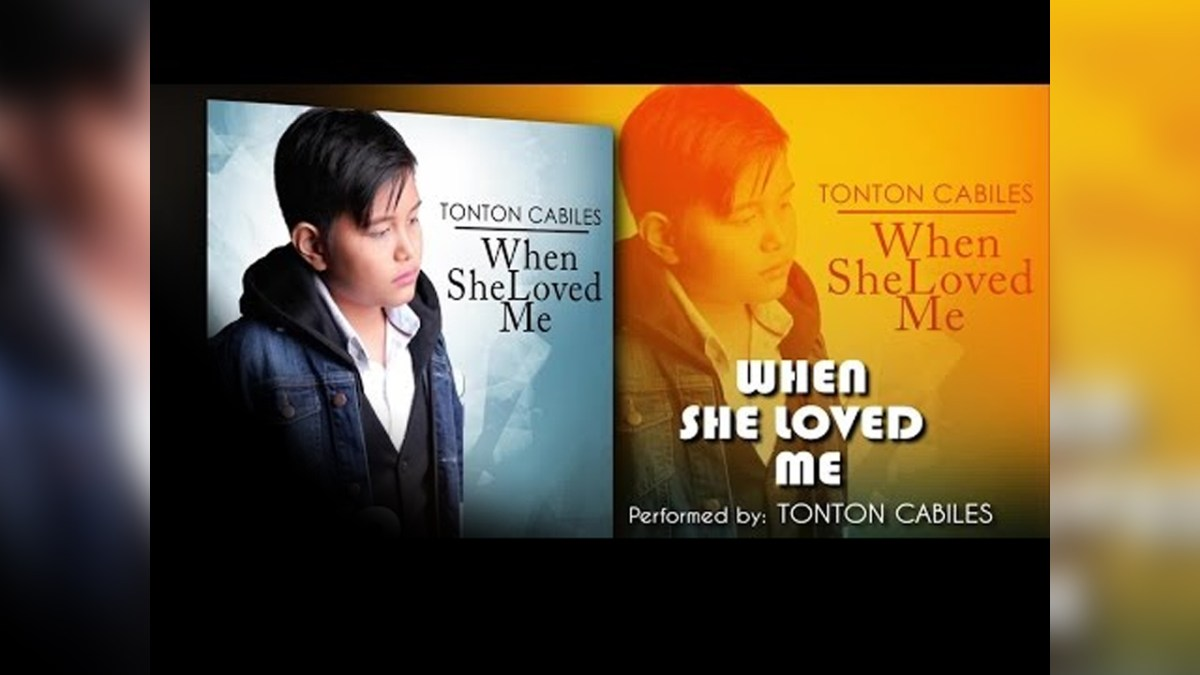 Vote for Tonton Cabiles - When She Loved Me
