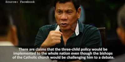 LOL! Kapamilya Star's IG Post About Duterte Child Policy Now Trending