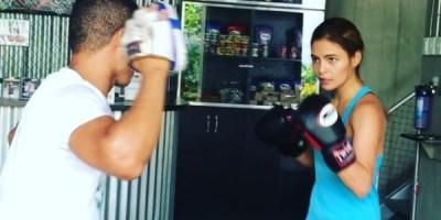 Lovi Poe Boxing