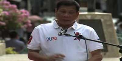 Duterte: Cut Penis of Father If Kids Reach 5