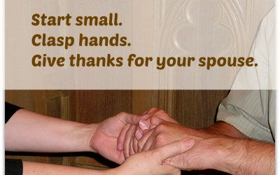 Praying for Each Other: Start Small