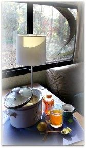 afternoon tea long white edge