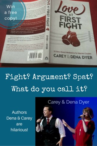 Love at first fight - humorous look at marriage