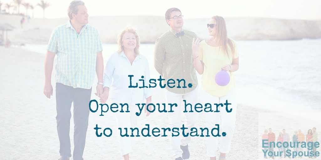 Open Your Heart to Understand