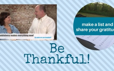 Be thankful. Share your Gratitude.