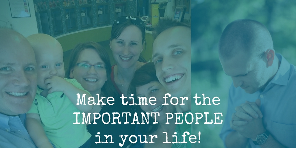 Important People – They Need Your Attention