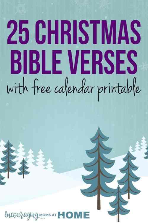 Medium Of Christmas Bible Verses