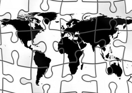 Global Puzzle - Public Domain