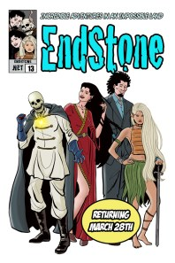 Endstone Issue 13 Cover