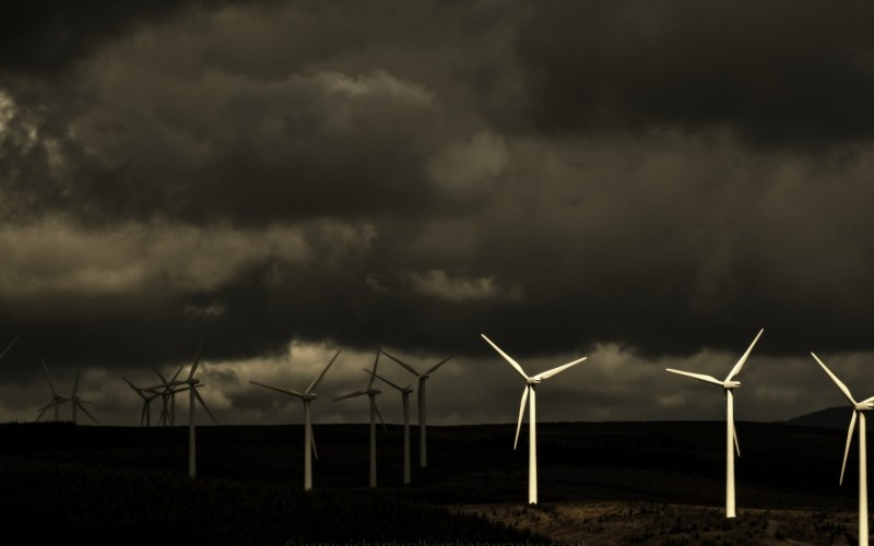 Dark Windmills